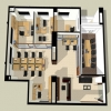 the basement (nonresidential) floor plan